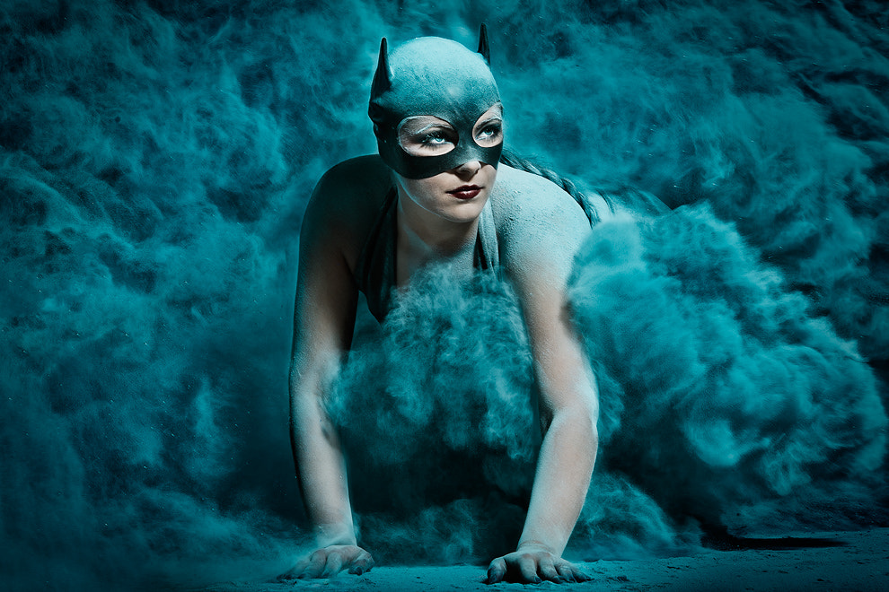 Photograph bat girl by Alexander Heinrichs on 500px