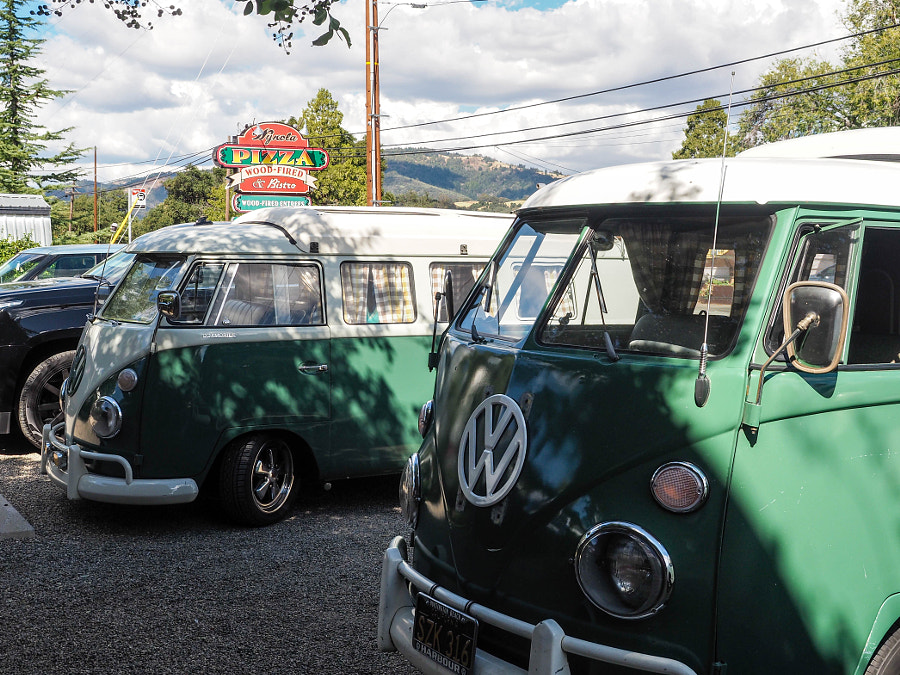 A Road Worthy Pair of VW Buses (3) by Nancy Lundebjerg on 500px.com