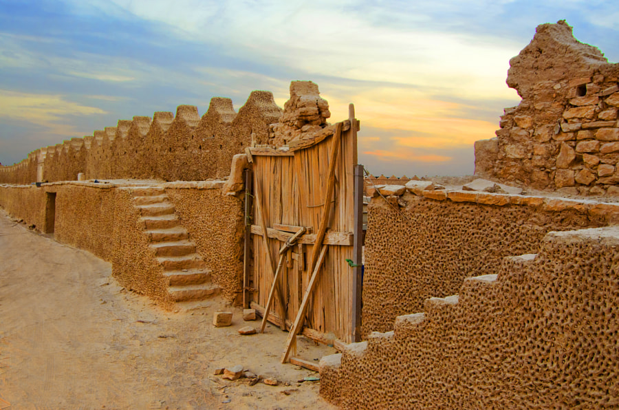 Photograph Al-Diriyah Wall by Saud Alrshiad on 500px