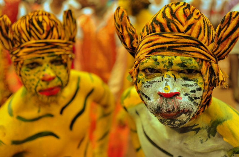 Photograph Dressed as tigers! by Sriram Guruswamy on 500px