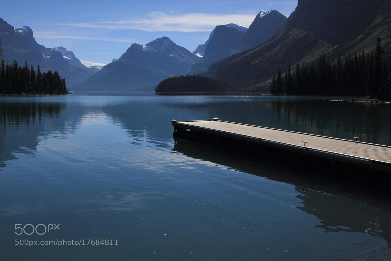 Photograph Maligne Lake by Eva Lechner on 500px