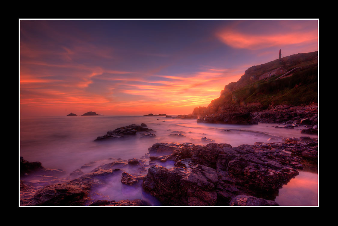 Photograph Sunset at Cape Cornwall by Derek Daniel on 500px