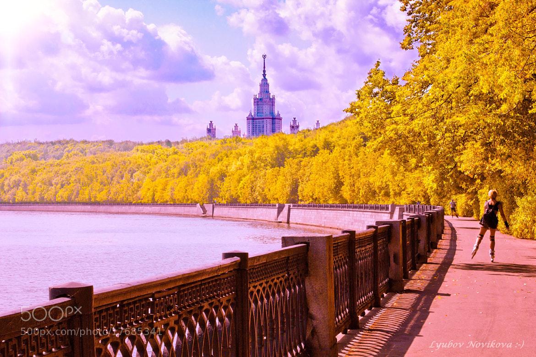 Photograph  Moscow State University by Lyubov Novikova on 500px