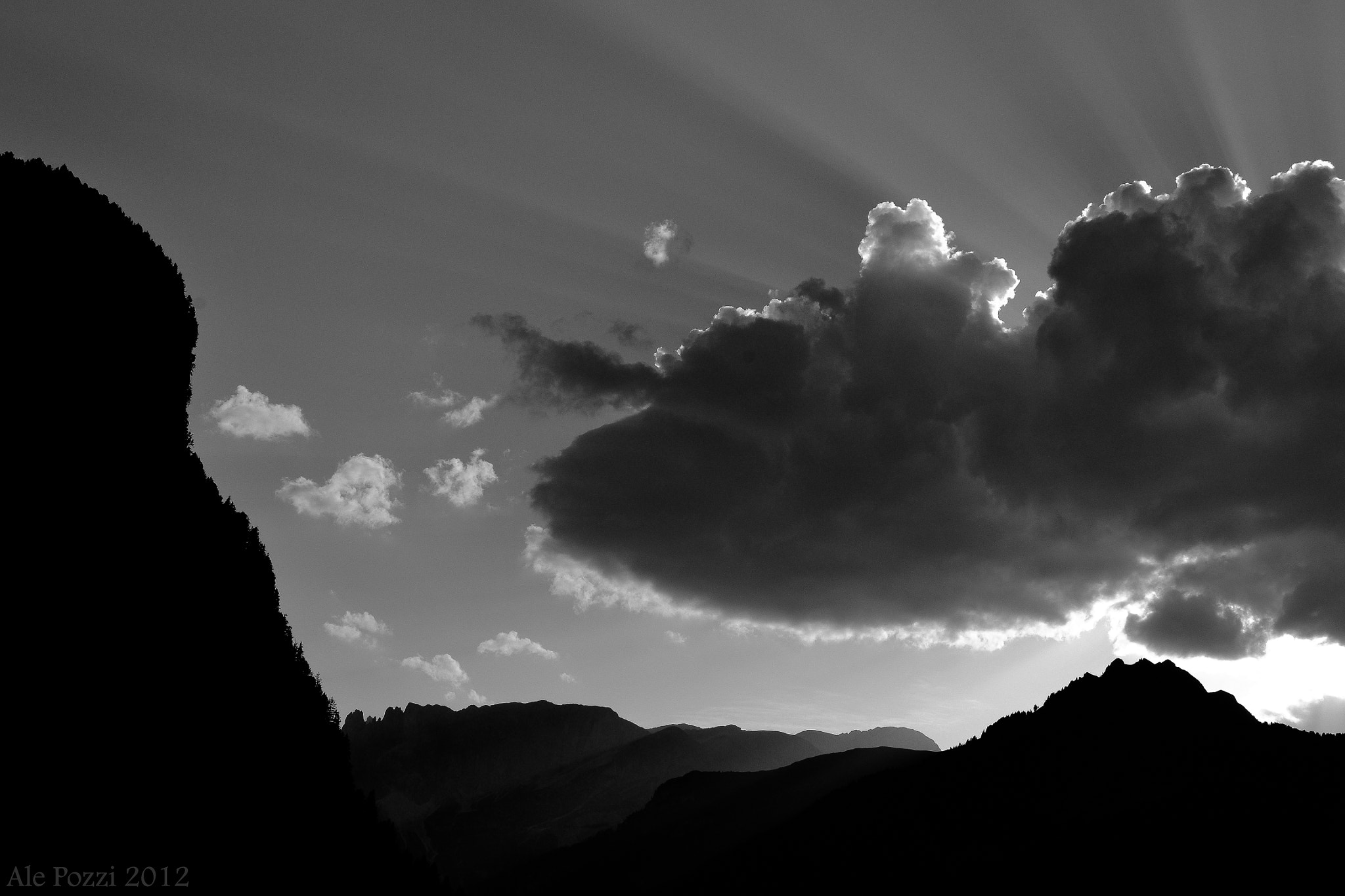 Photograph Cloud and mountains by Alessandro Pozzi on 500px