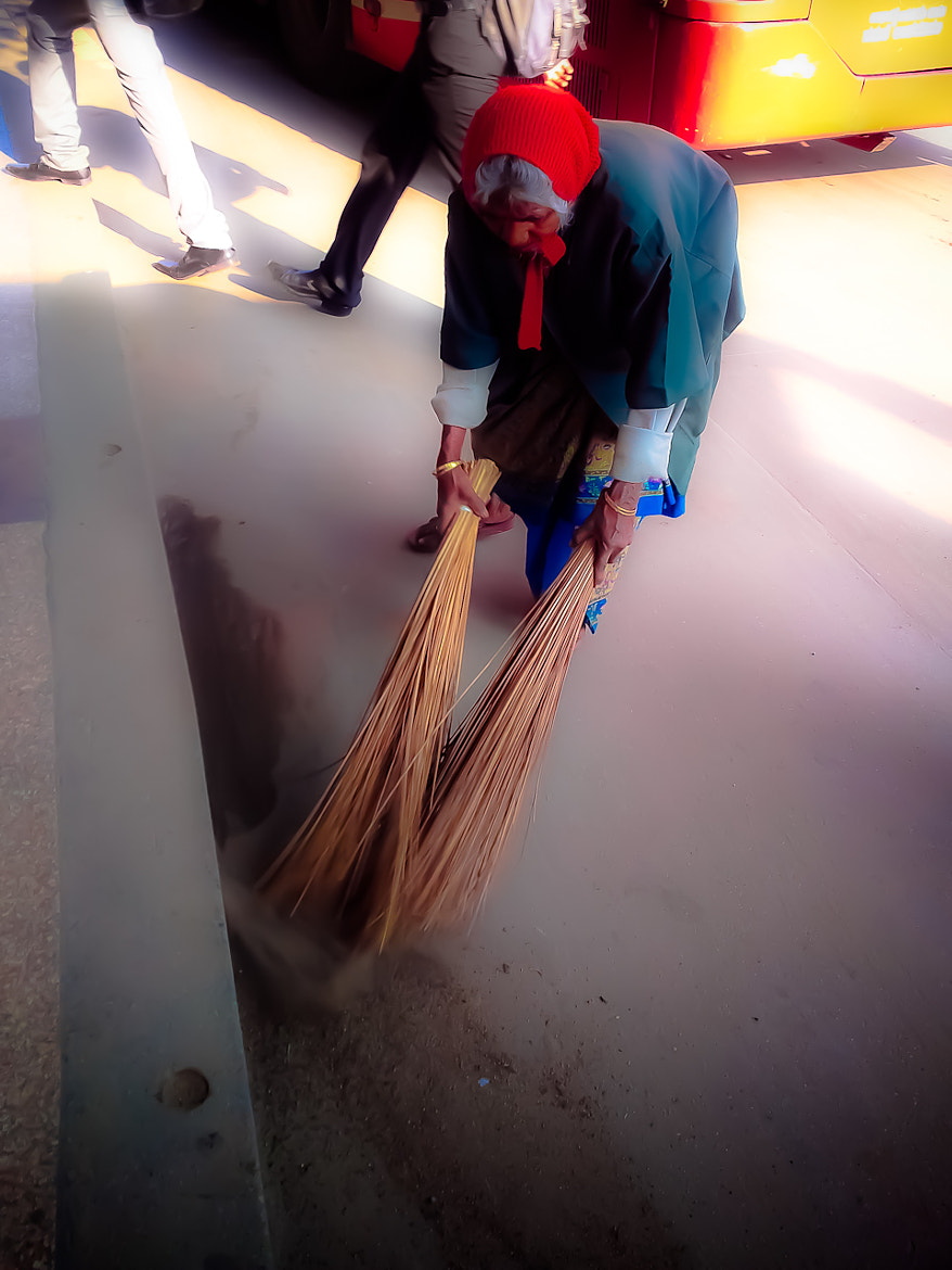 Photograph Kill Bill cleaning by Mukesh Soni on 500px