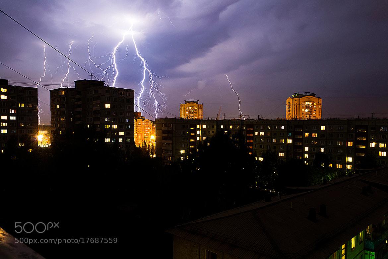 Photograph  lightning by Василий Хоботов on 500px