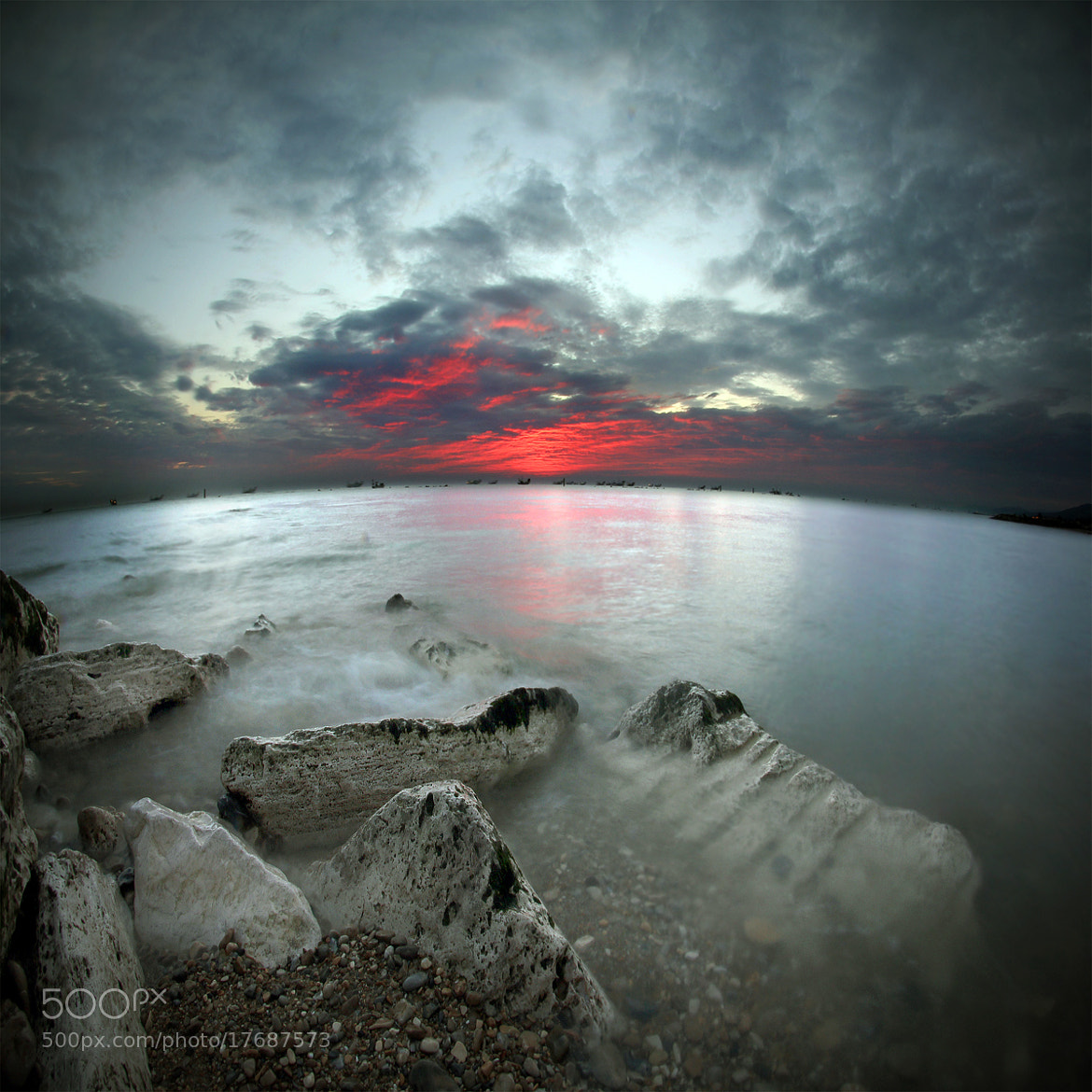 Photograph The sea at dawn 2 by ivo pandoli on 500px