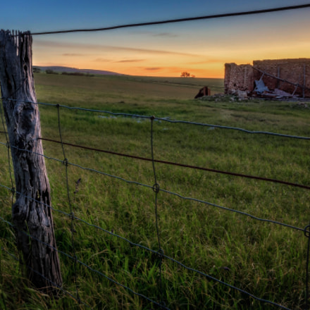 Sunset on the Farm, Canon EOS 60D, Canon EF-S 15-85mm f/3.5-5.6 IS USM