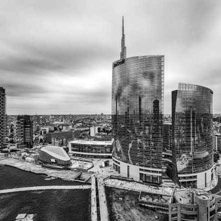 Milan, Unicredit Tower in, Pentax K-5 II S, Sigma AF 10-20mm F4-5.6 EX DC