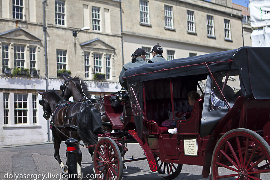 Photograph Rushing carriage, Bath by Dolya Sergey on 500px