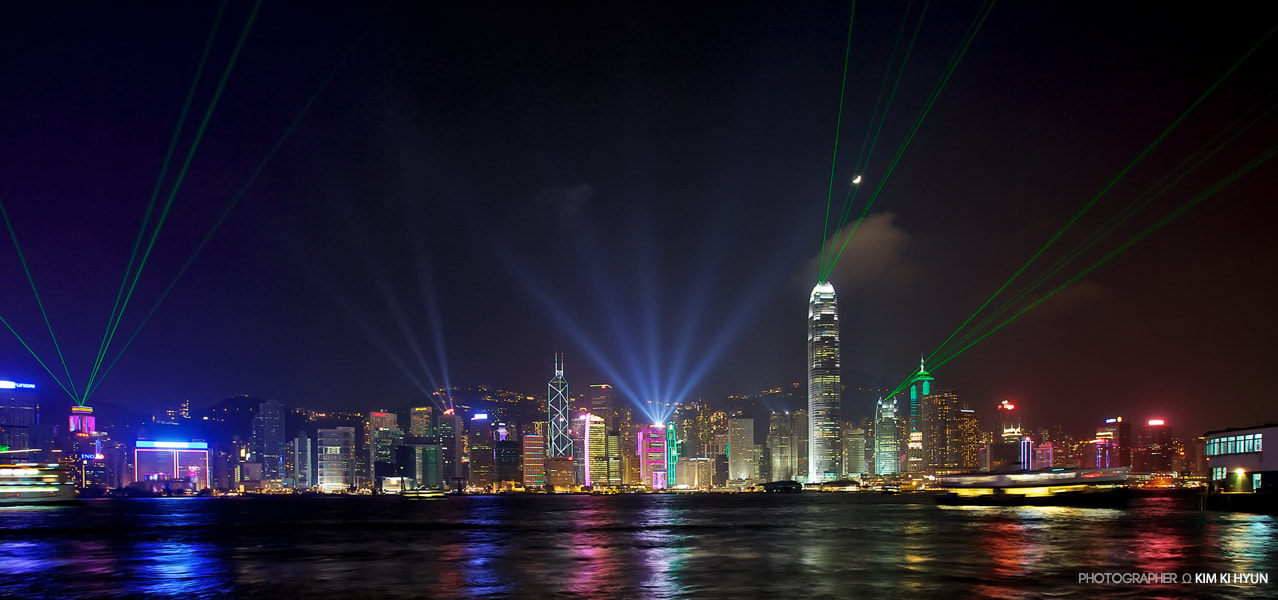 Photograph Symphony of light @ Hong Kong by G. Nom on 500px