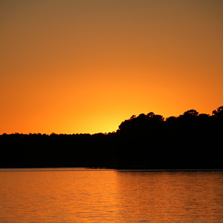 Golden sunset on the, Canon EOS REBEL T6S, Canon EF 75-300mm f/4-5.6 IS USM