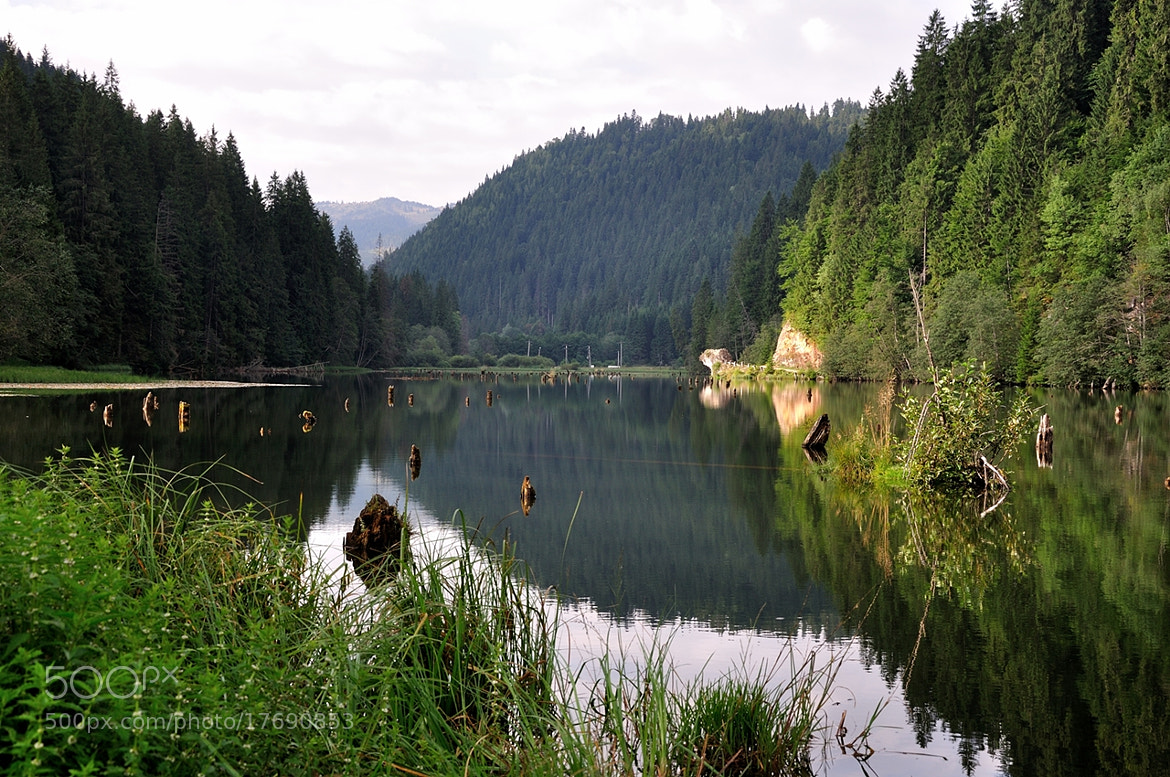 Photograph Red Lake by Hurghis Vasile on 500px