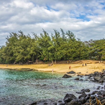 Ke'e beach, Canon EOS REBEL T2I, Tamron 18-250mm f/3.5-6.3 Di II LD Aspherical [IF] Macro