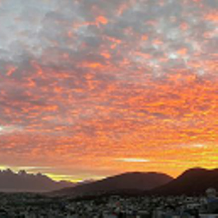 Sunset in Ushuaia