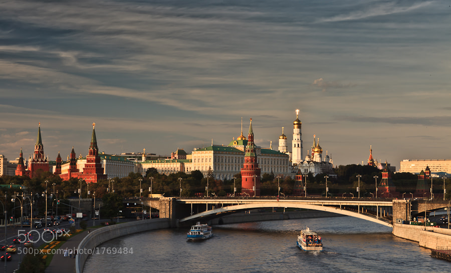 Photograph Kremlin, Moscow, Russia by Michael Shmelev on 500px