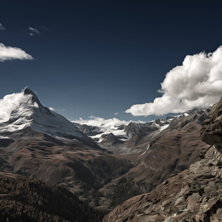 Matterhorn, Canon EOS 5D MARK III, Canon EF 28-300mm f/3.5-5.6L IS