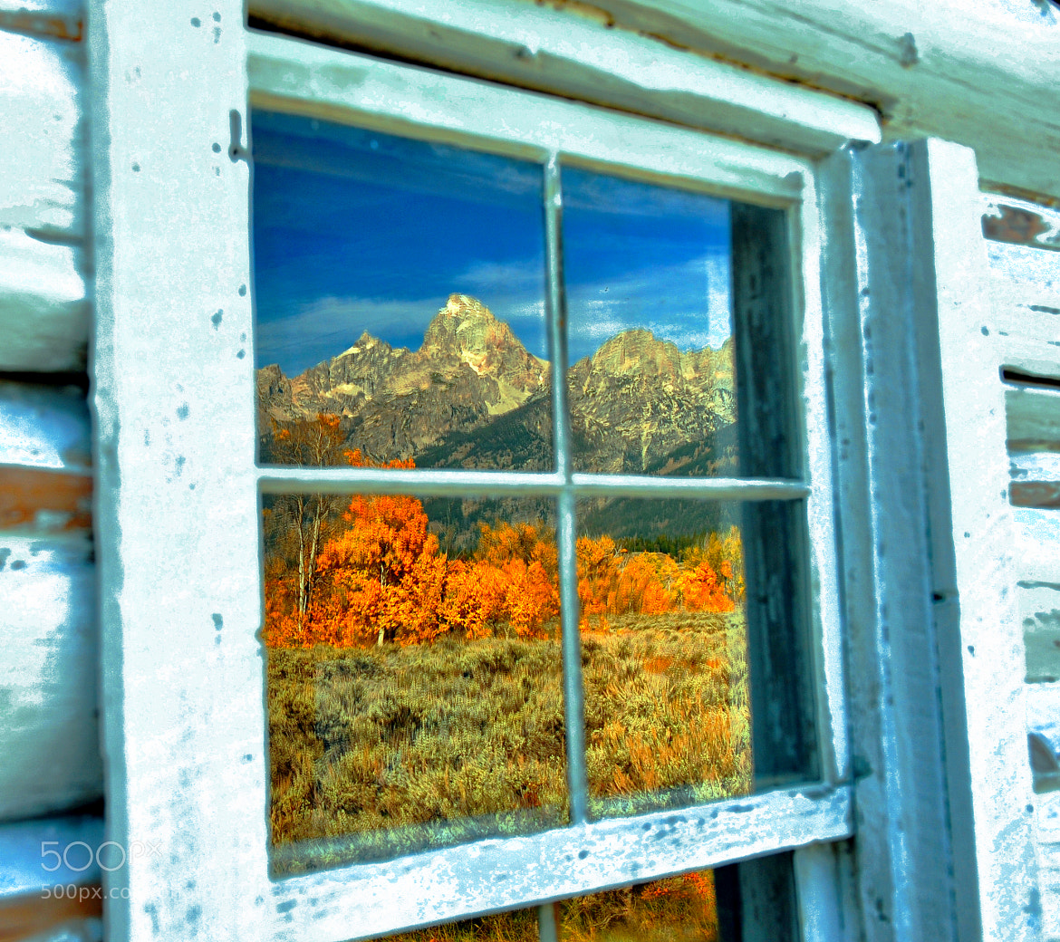 Photograph Autumn Window by Jeff Clow on 500px