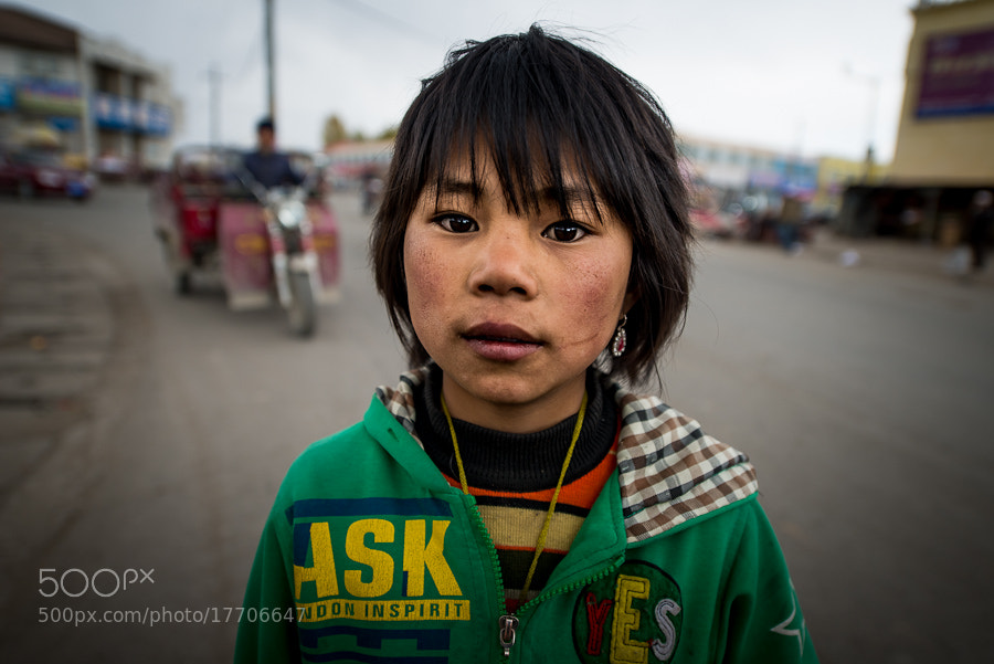A Girl from Tibet by Evgeny Tchebotarev (tchebotarev)) on 500px.com
