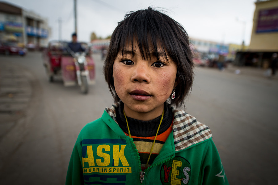 Photograph A Girl from Tibet by Evgeny Tchebotarev on 500px