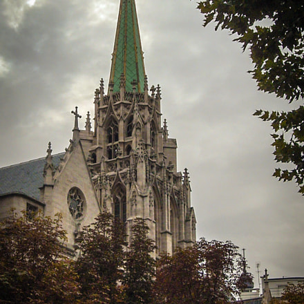 Gothic Cathedral, Fujifilm FinePix A210