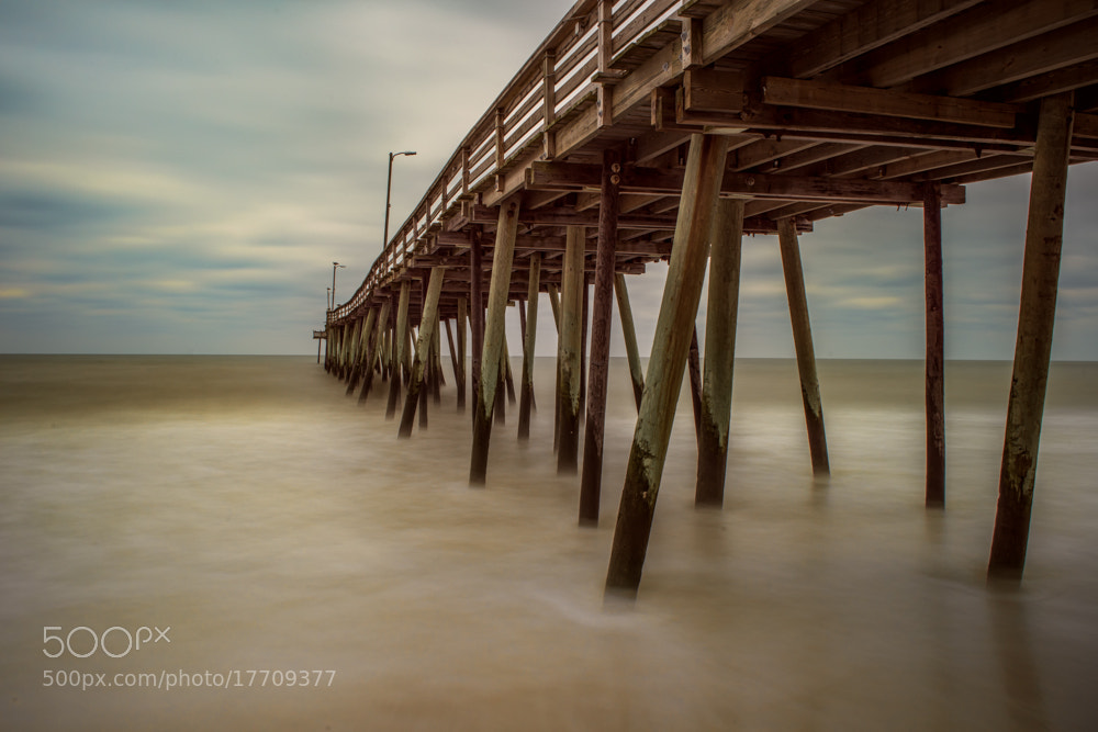 Photograph Virginia Beach Pier by Ken Toney on 500px