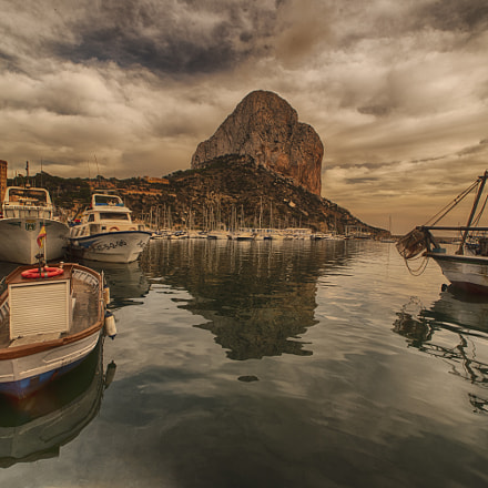 Port de Calp HDR, Nikon D750, Sigma 14mm F2.8 EX Aspherical HSM