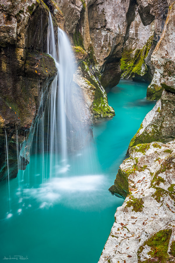 Photograph Soca River by Andreas Resch on 500px