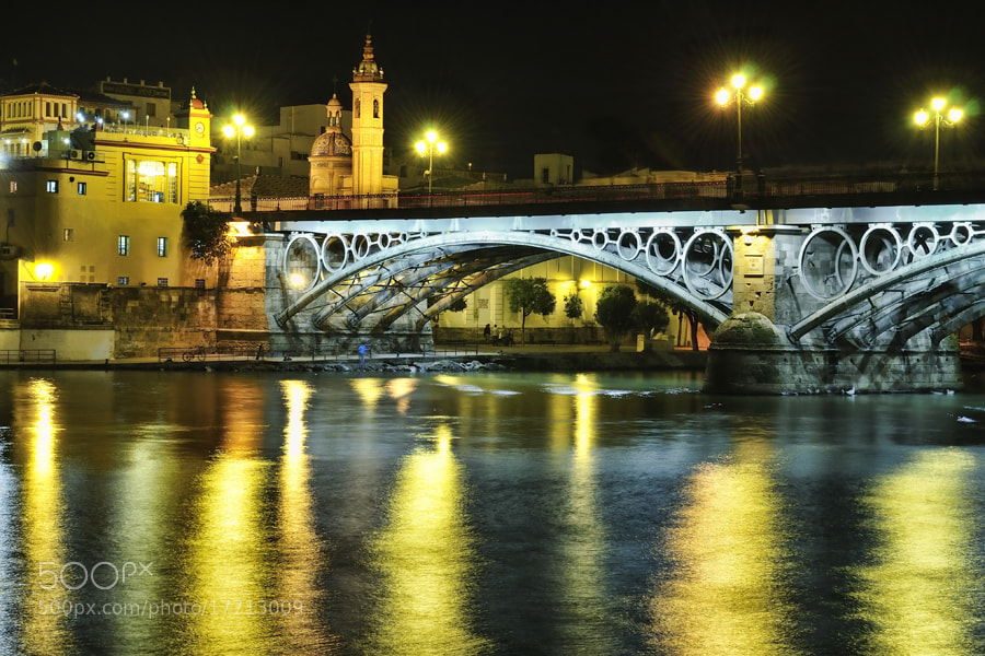Puente de Triana by Juan Benito Cobo (jbcobo)) on 500px.com