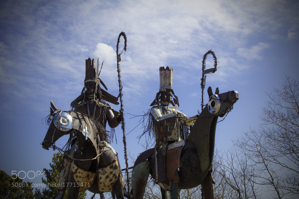Photograph Blackfoot tribal sculpture by Rick Huntsman on 500px