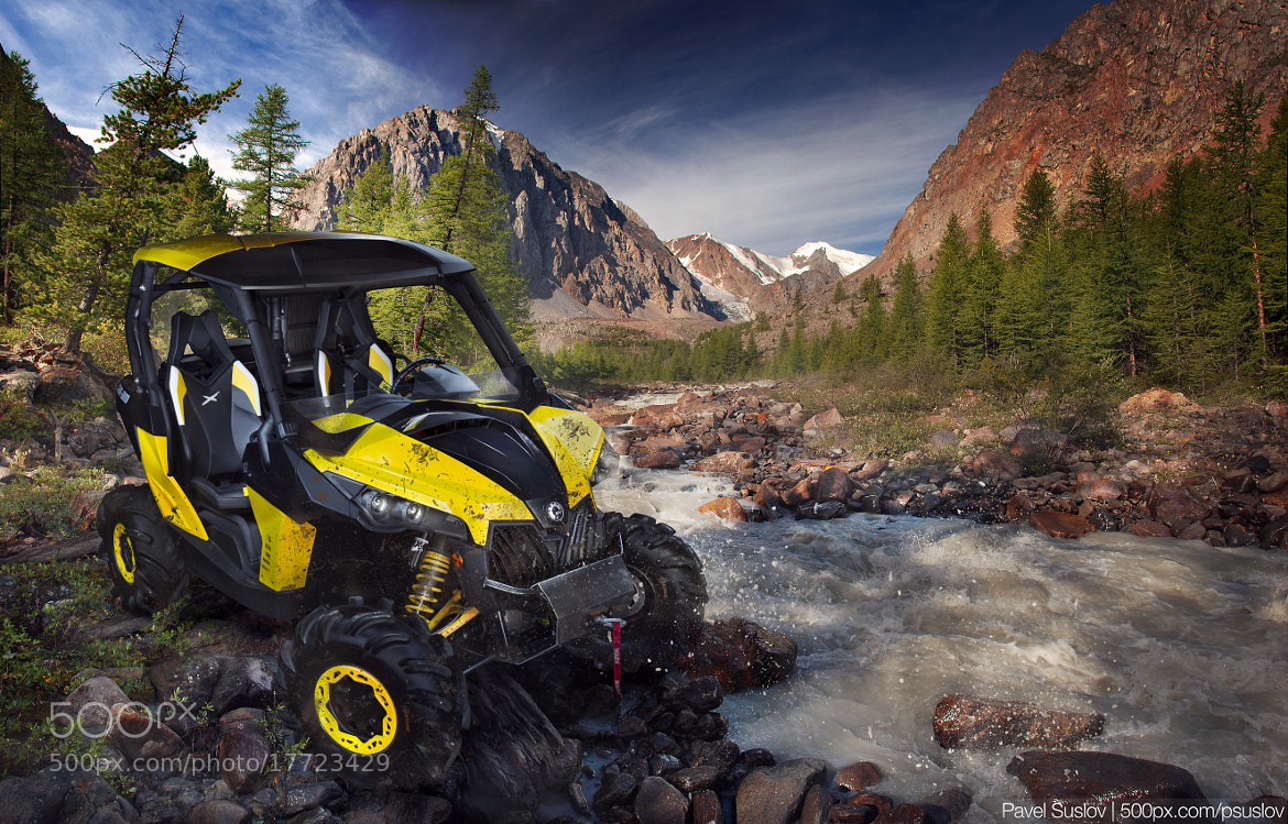 Photograph Can-Am Maverick 1000 X-RS 2013 by Pavel Suslov on 500px