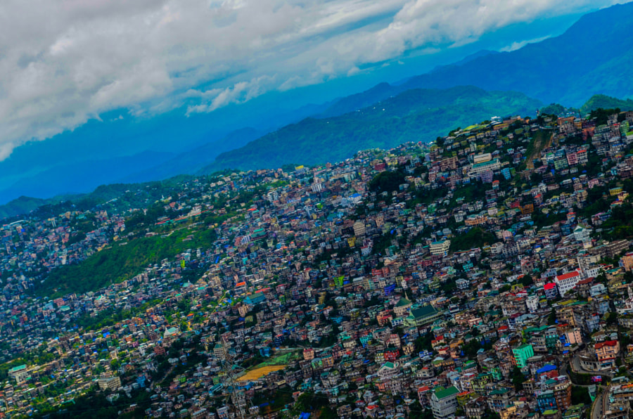 Aizawl by AJEY SINGH on 500px.com