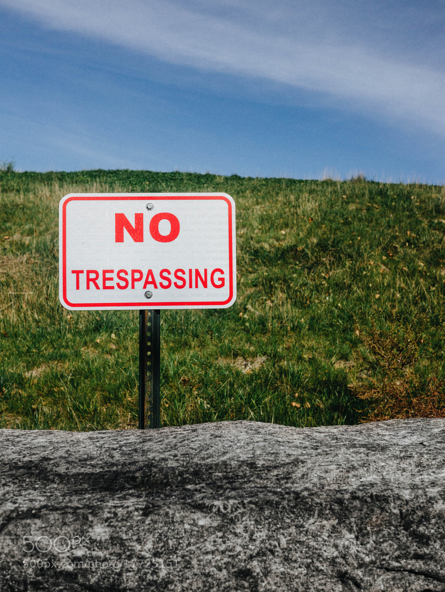 Photograph No Trespassing by Napier Lopez on 500px