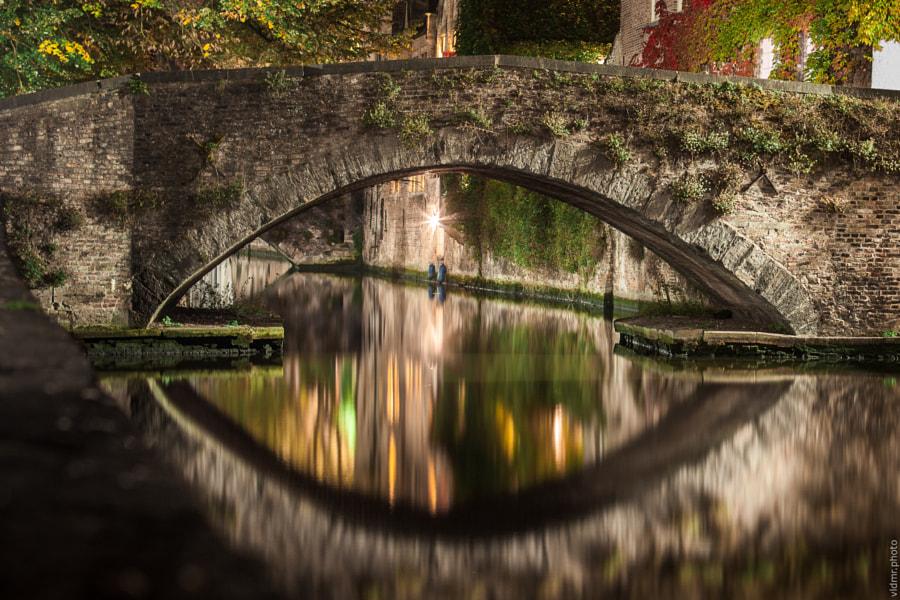 Under the Bridge in Brugge