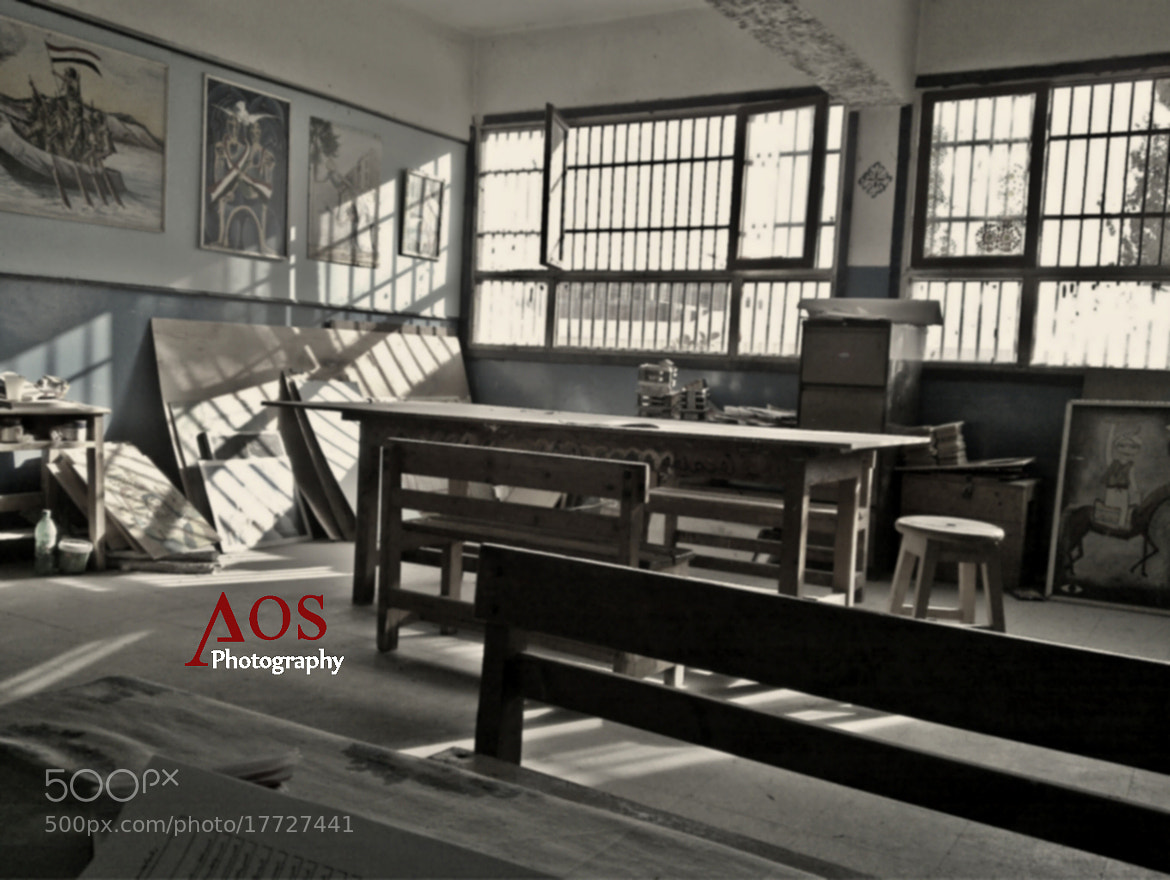 Photograph school art room by Mohamed Aos on 500px