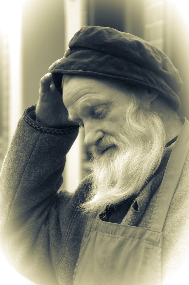 Photograph Old man by Hans Sendker on 500px