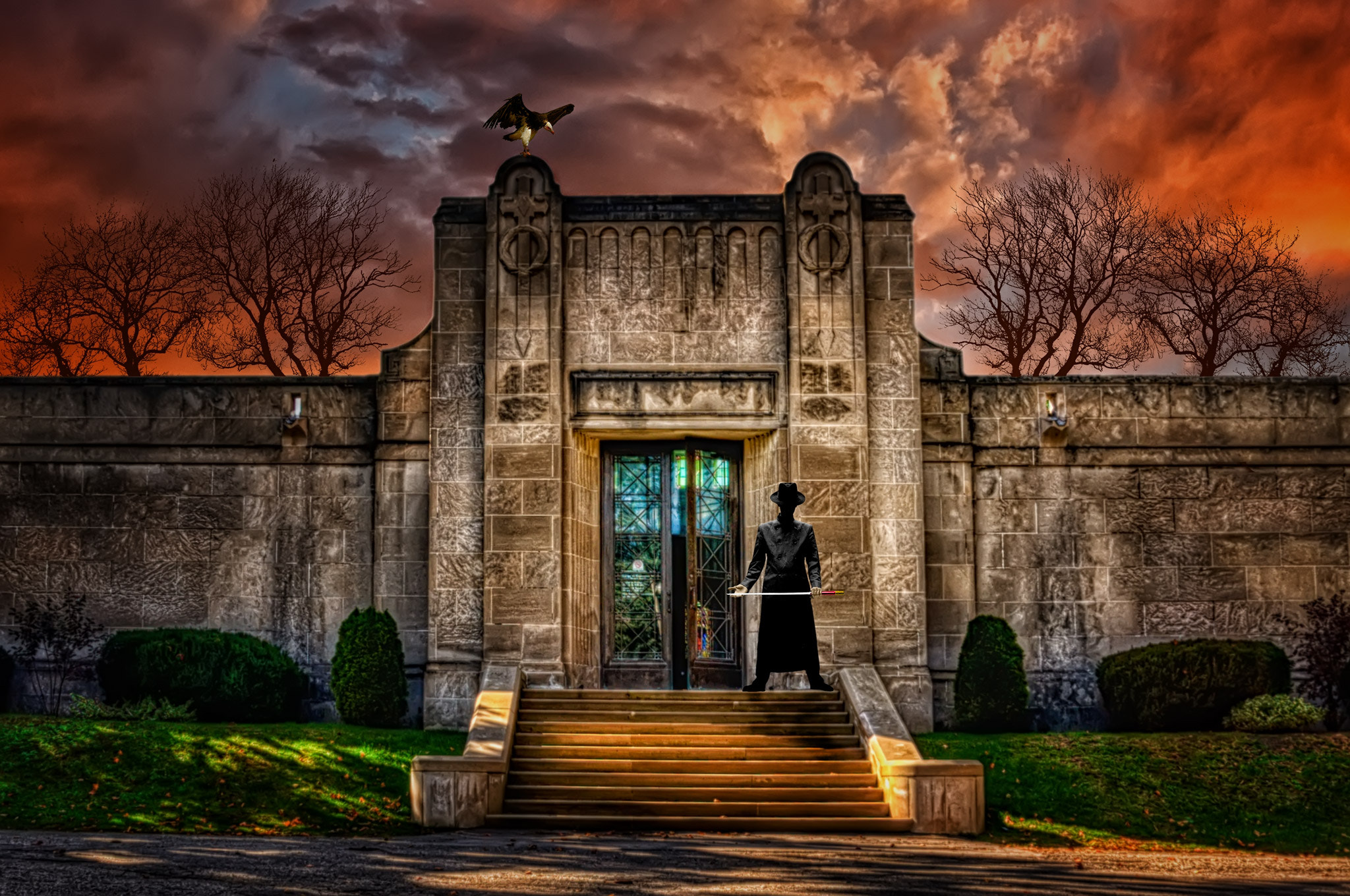 Photograph Welcome to the Mausoleum by Paul  Murphy on 500px
