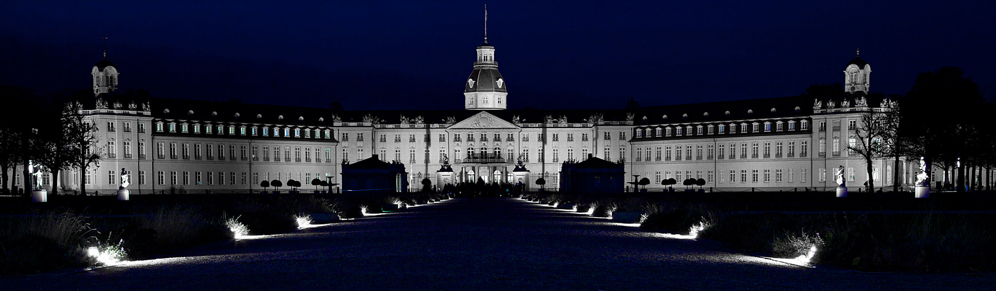 Photograph Tinted Castle Karlsruhe by Thorsten Jung on 500px