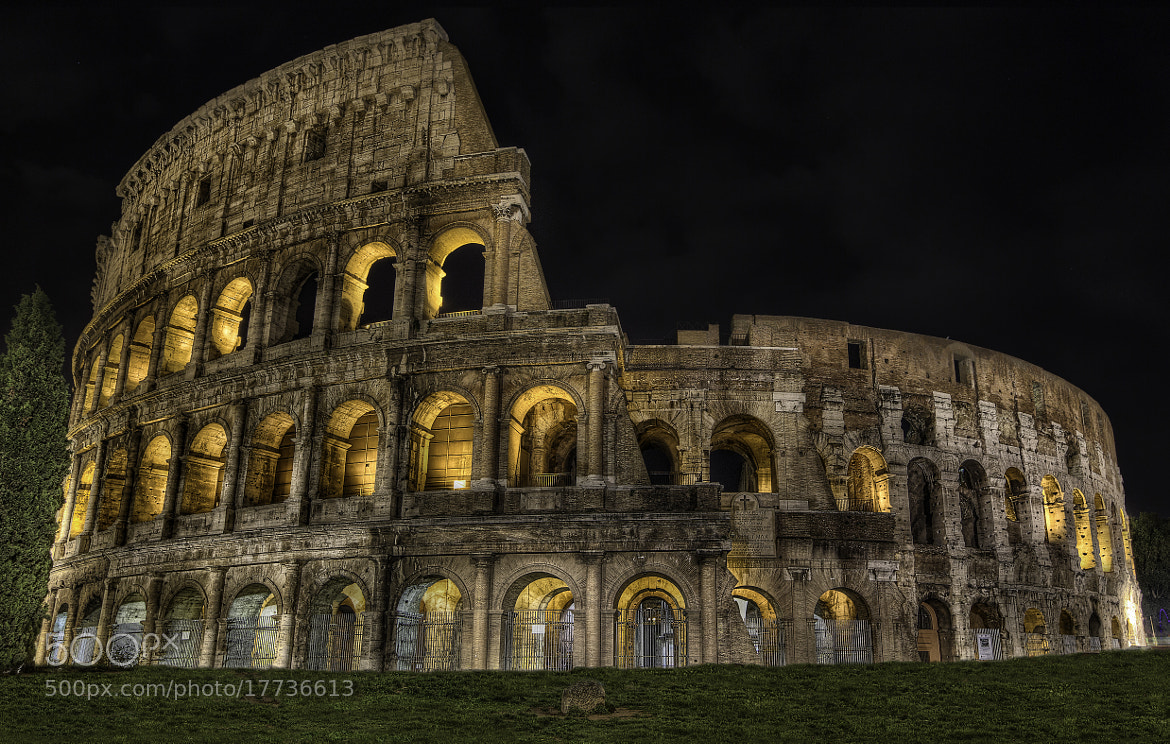 Photograph Coloseo by Robert Arrington on 500px