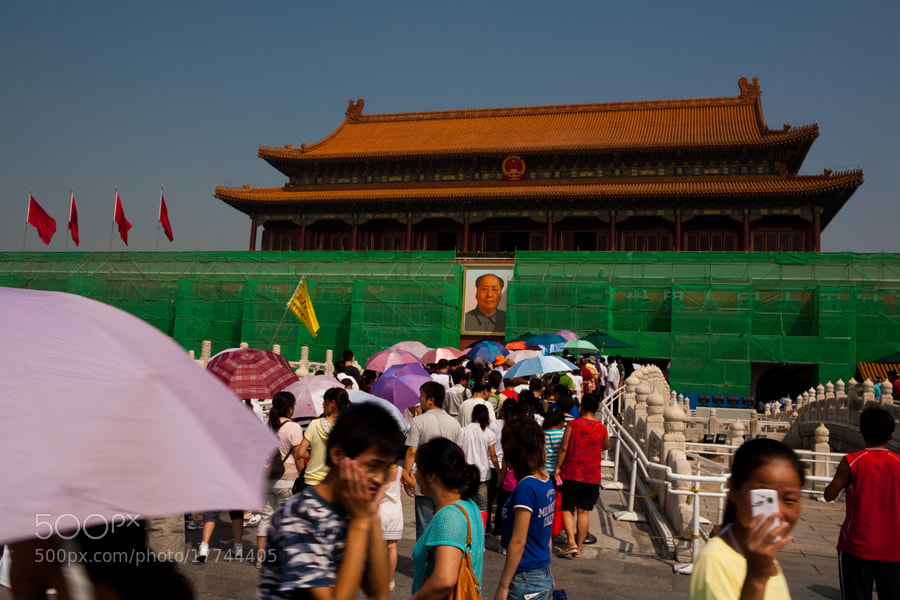 Photograph The not so Forbidden City by Ken Larmon on 500px