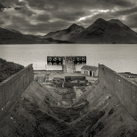 Ore mine workings ~Raasay, Nikon D5100, Sigma 18-50mm F2.8-4.5 DC OS HSM