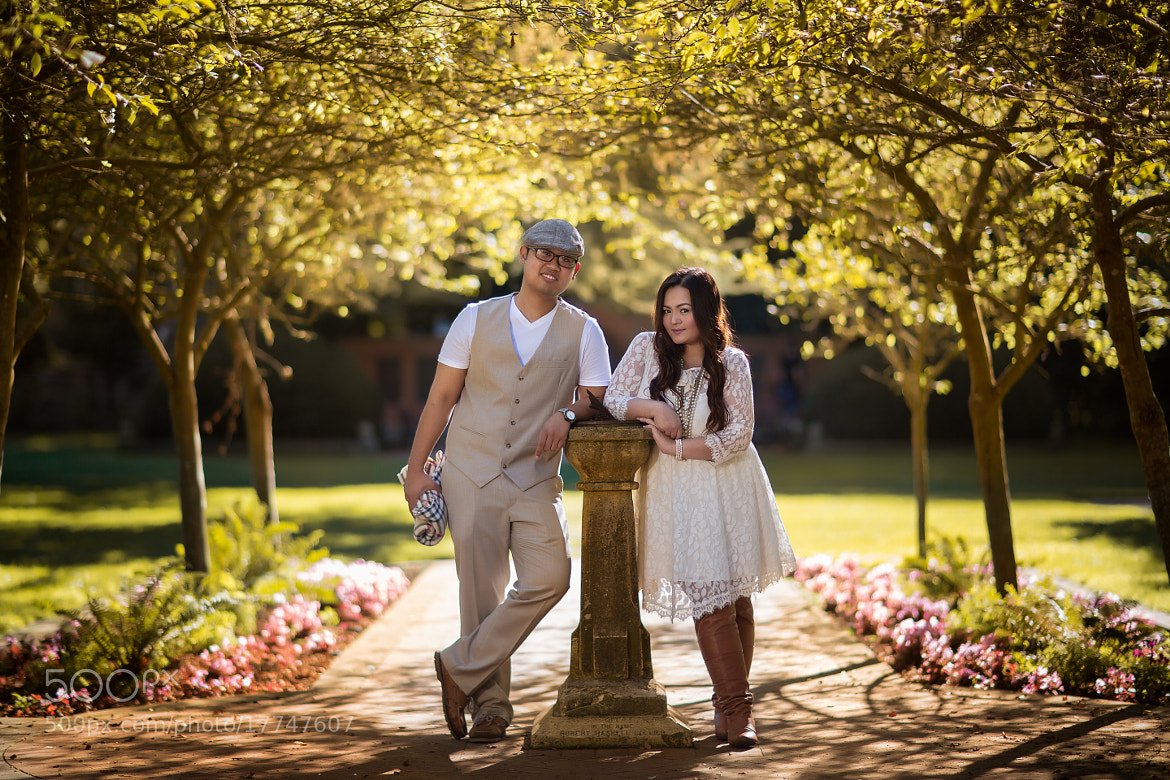 Photograph Shakespeare's Garden Engagement by Mitch T on 500px