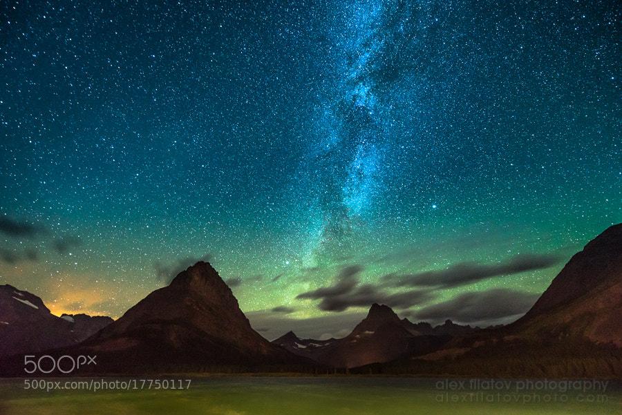Photograph Glacier Starwalk by Alex Filatov | alexfilatovphoto.com on 500px