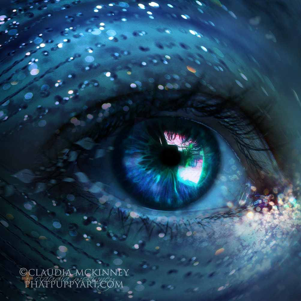 Photograph Mermaid Eye by Phatpuppy Art on 500px