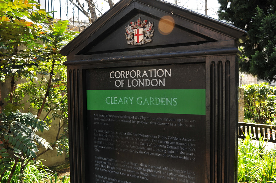 Gardens of the City of London by Sandra on 500px.com