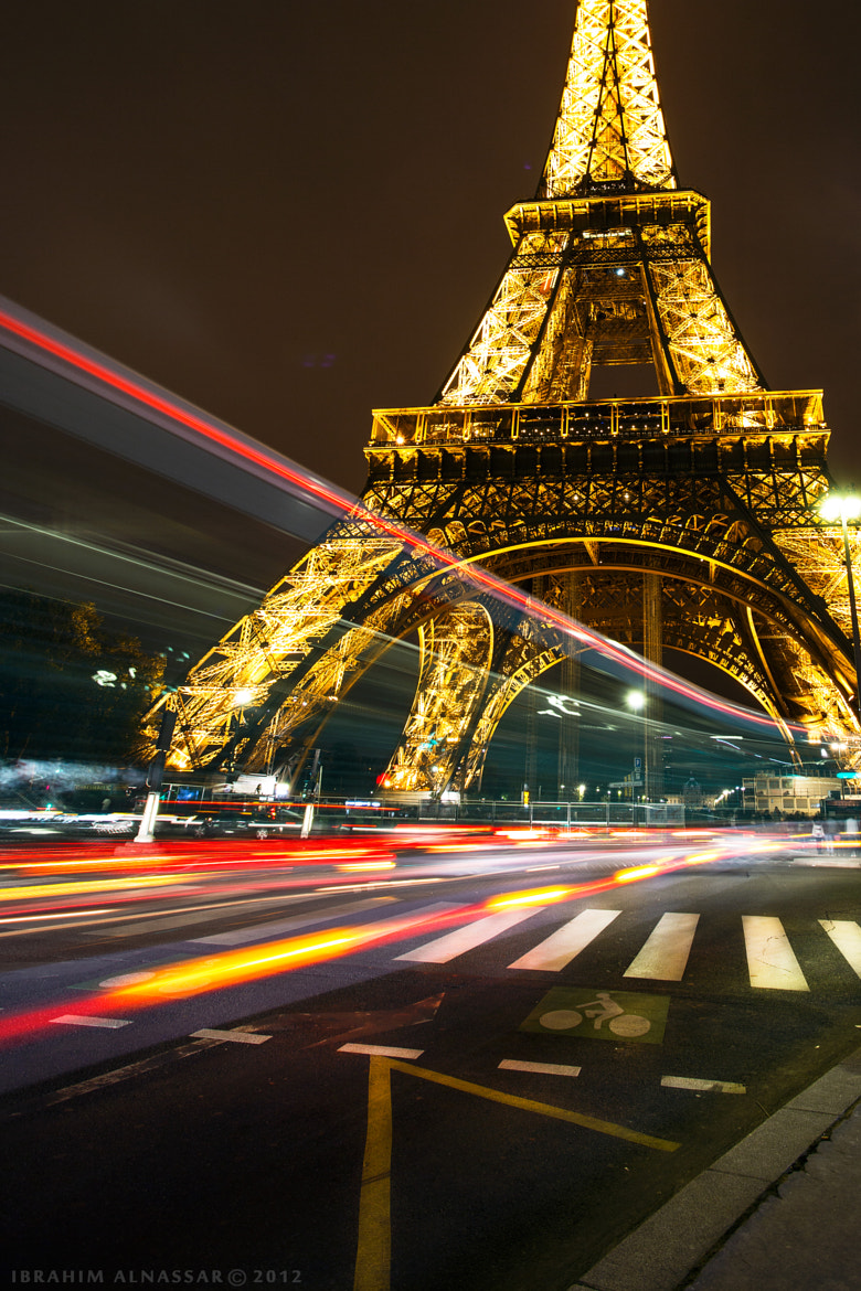 Photograph Eiffel tower at night by Ibrahim  Alnassar on 500px