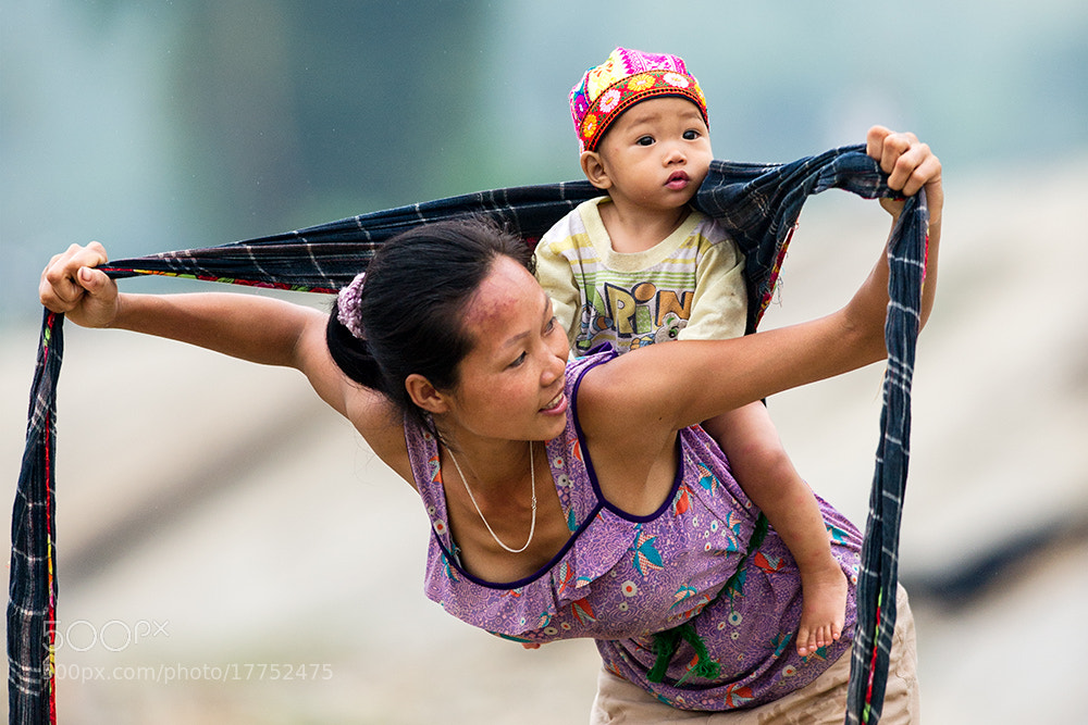 Photograph Mother and son by Hai Thinh on 500px