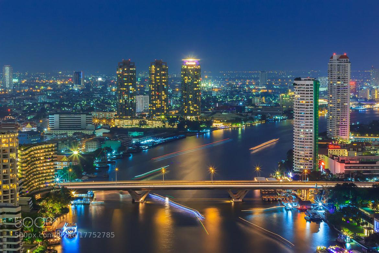 Photograph Chao Phraya river by Pornsiwa Ngamchavee on 500px