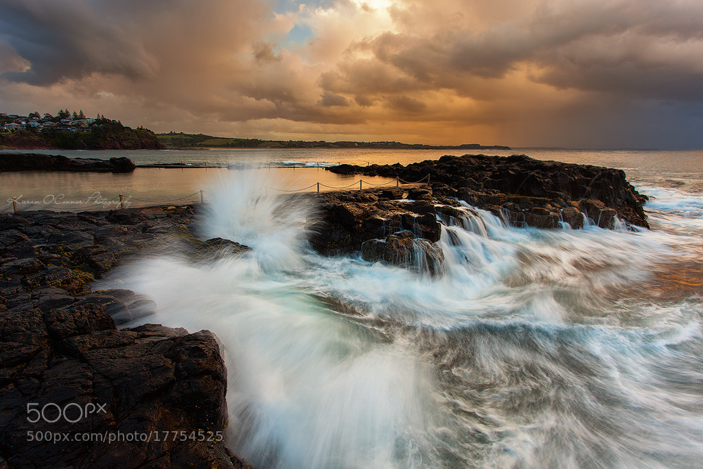 Photograph Sunset Surge by Kieran O'Connor on 500px