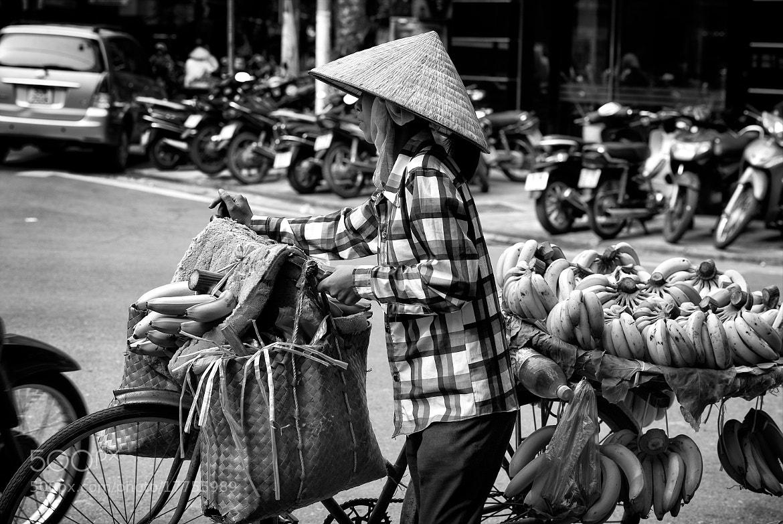 Photograph banana seller by hamni juni on 500px